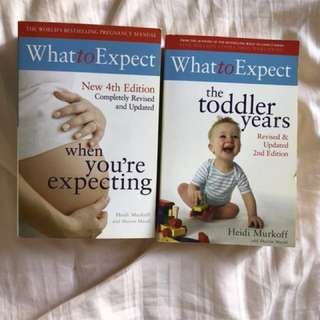 What to expect Parenting Books