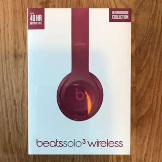 Beats Solo3 Wireless BRAND NEW sealed