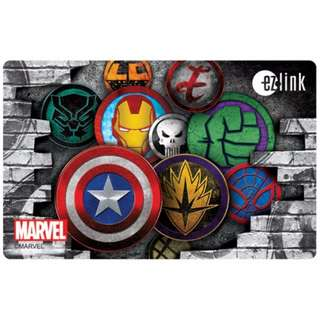 [brand new] marvel limited edition ezlink card