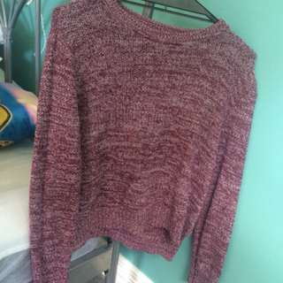Semi cropped jumper