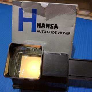 Hansa auto slide viewer 正片看片器
