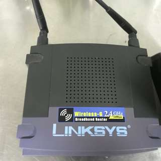 Linksys Broadband Router & Motorola Cable modem