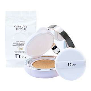 Christian Dior Capture Totale Dream Skin Perfect Skin Cushion SPF50 - PA+++ 2 x 0.5oz 2 x 15g Color 012