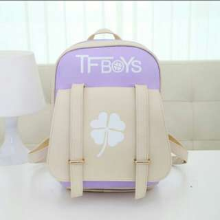 TFBOYS Bag (Clover in the middle will shine at night)