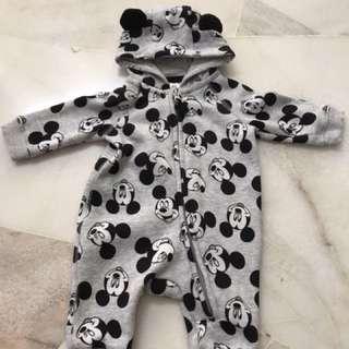 Preloved H&M Mickey bodysuit