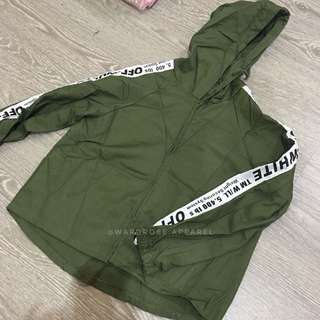 Faux Offwhite Jacket