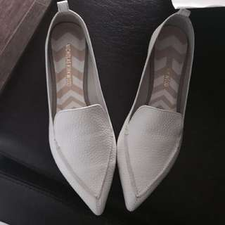Brand New Leather White Shoes 38