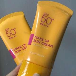 holika holika makeup suncream sunscreen sunblock