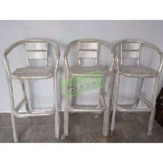 Aluminum Bar Stool Drafting Chairs :) KHOMI--