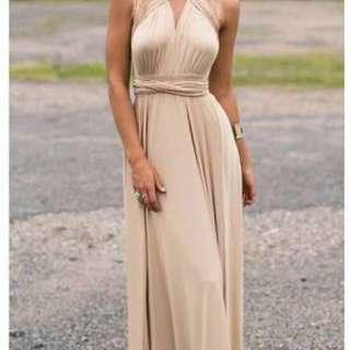 8-way long dress