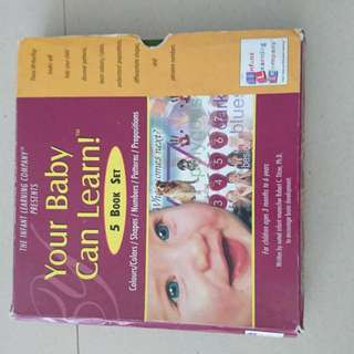 Your Baby Can Learn book set