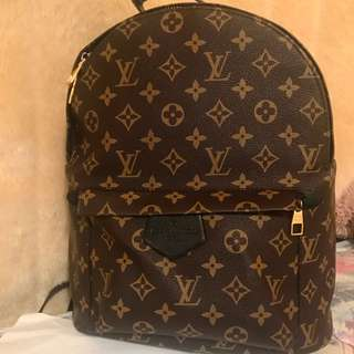 Big size lv park spring bagpAck size of normal bagback