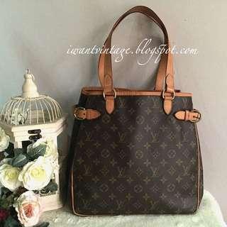 Louis Vuitton M51153 Batignolles Vertical Monogram Bag
