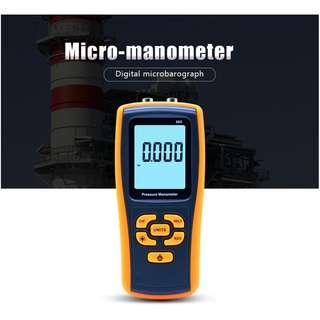 Benetech GM505 Digital Pressure Meter Manometer 2.49KPa Gauge with USB