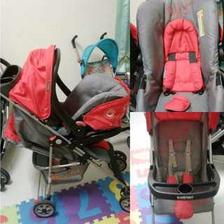 stroller & baby carrier carseat