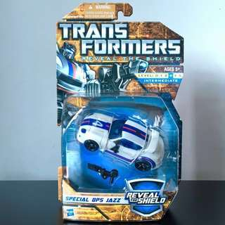 TRANSFORMERS - Reveal The Shield - Autobot SPECIAL OPS JAZZ Action Figure