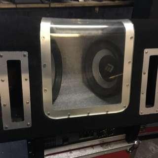 双十寸重低音箱,不連喇叭