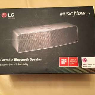 Brand New LG Portable Bluetooth Speaker Music Flow P7
