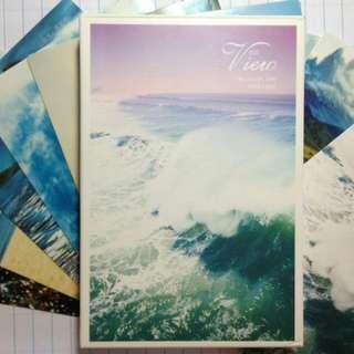 🌿Natural view postcards