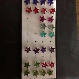 Star shaped studs