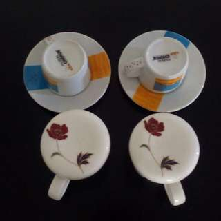 Set of 4 cups. Never use. Self collect from Blk 412A Fernvale Link, Sengkang West, S791412