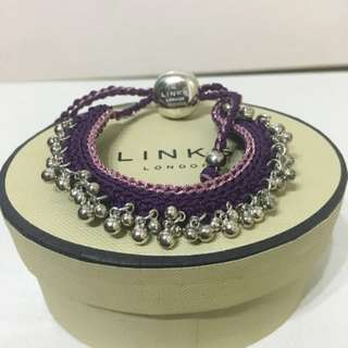 Links of London woven bracelet