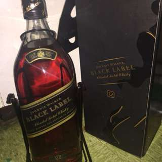 4.5 liters Black Label with Cradle