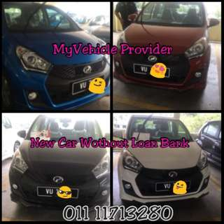 Myvi se 1.5 without loan at bank