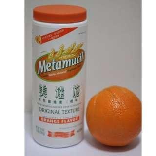 美國美達施 Metamucil 天然纖維素 (橙味) 纖維粉