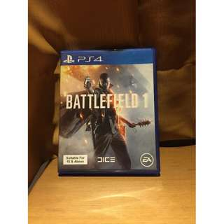 Kaset BD PS4 Battlefield 1