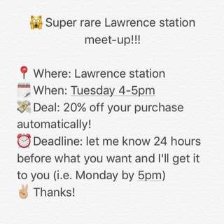 👯Lawrence meet up