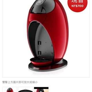 雀巢咖啡機DLC GST Piccolo 紅色