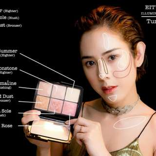 EITY EIGHT ILLUMINATING PALETTE