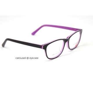 $80 Package Glasses - Spectacles Acetate Crizal and Kodak Special 17-Purple