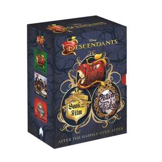 Disney Descendants Book Set Slipcase