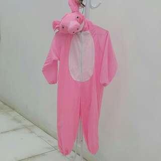 粉紅豬服(肩至脚100cm)