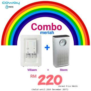 Happy Coway Combo Meriah Deal