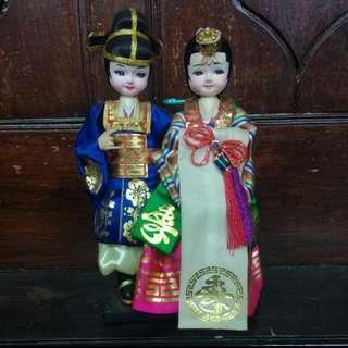 Pajangan boneka korea