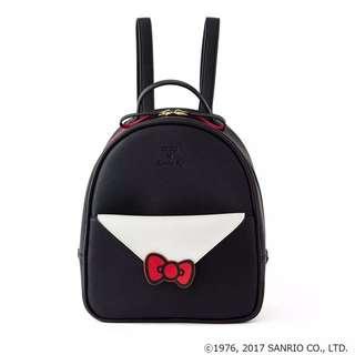 [限定]Colors kitty貓訂製合作款可拆式手提包信封包後背包肩背包