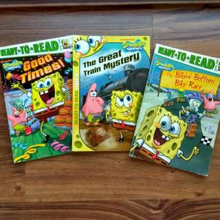 SpongeBob SquarePants Ready-To-Read Level 2. 3for$10 (or$4each)