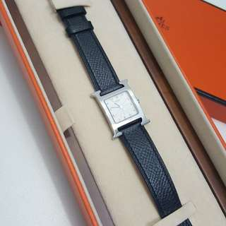 Authentic Hermes H Hour Watch