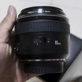 Yn 85mm f1.8