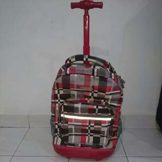 Jworld New York rolling school bag