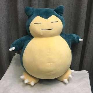 JAPAN POKÉMON CENTER {Authentic} Snorlax Big Stuffed Soft Toy
