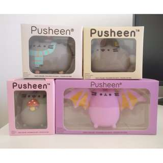 Pusheen vinyls figurines. Pusheen Box Exlusive