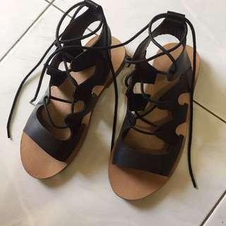 F21 Gladiator Sandals