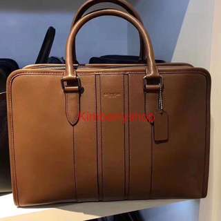 Authentic Coach briefcase work bag office bag laptop bag backpack