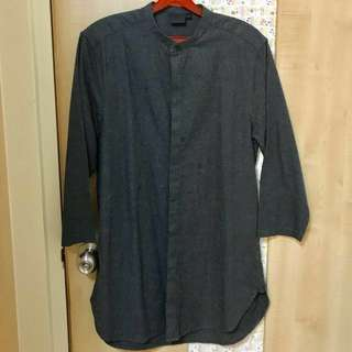 ASOS shirt dark grey