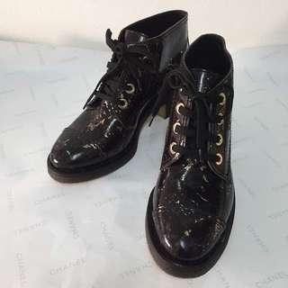 Authentic CHANEL Leather Shoes