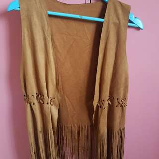 Brown Suede cover up